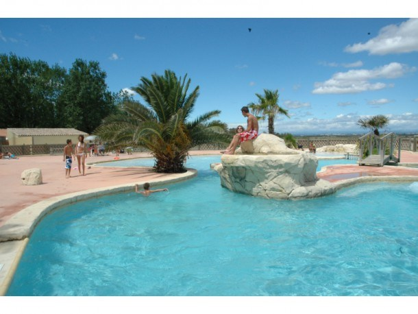 Camping 3* Montpellier Plage - Mobil home 3 chambres 6 pers (5ad max)