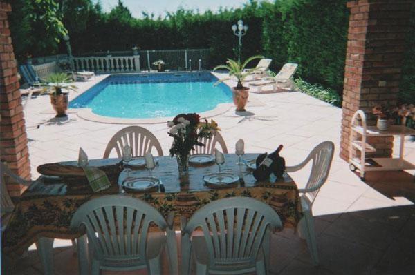 Appartement pour 6 pers. avec piscine, Anduze