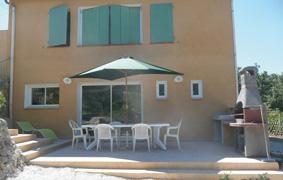 Location vacances La Cadière-d'Azur -  Appartement - 7 personnes - Barbecue - Photo N° 1