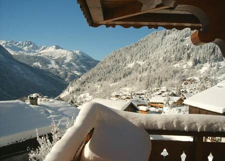 Location vacances Champagny-en-Vanoise -  Appartement - 5 personnes - Salon de jardin - Photo N° 1
