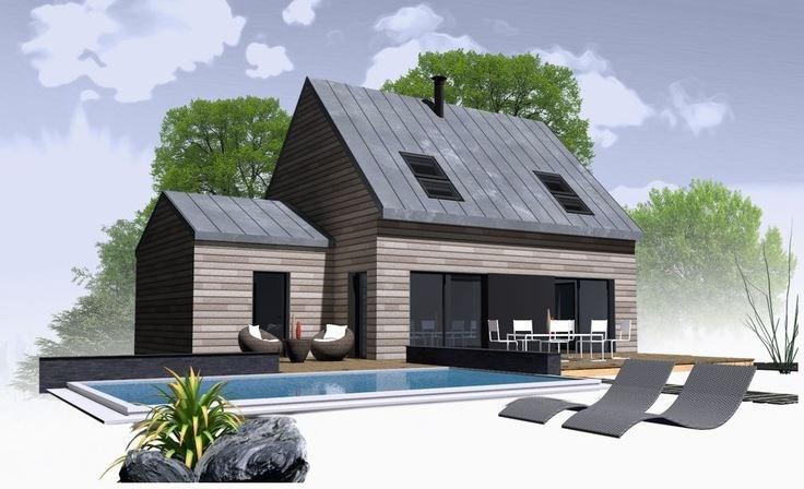 Maison  6 pièces + Terrain 1800 m² Elven par MAISONS NATURE & BOIS PLOUGOUMELEN