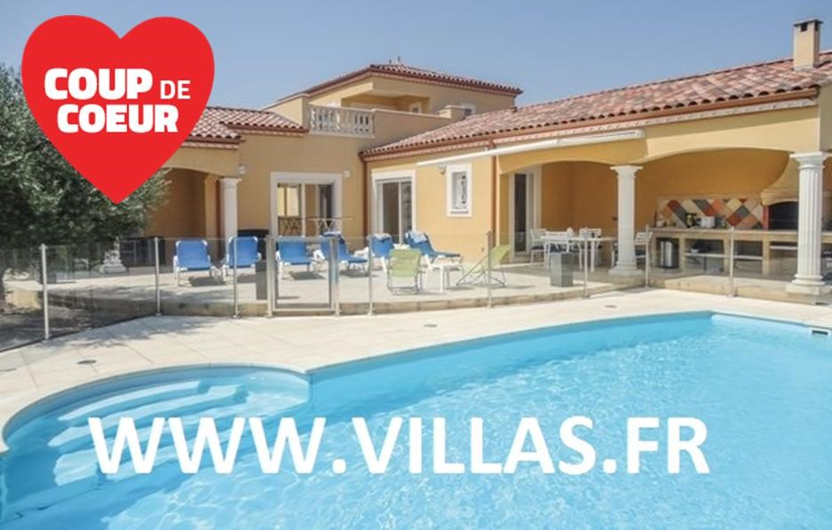 Location vacances Agde -  Maison - 10 personnes - Barbecue - Photo N° 1