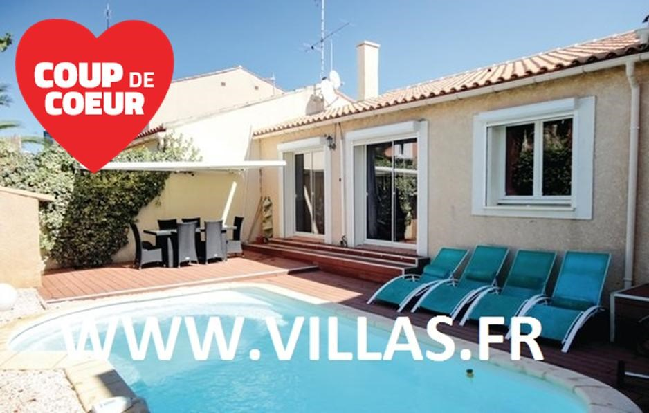 Location vacances Gruissan -  Maison - 7 personnes - Barbecue - Photo N° 1