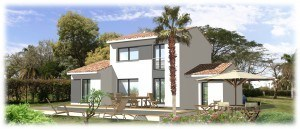 Maison  4 pièces + Terrain 1076 m² Sainte-Anastasie-sur-Issole par MAISONS BLANCHES