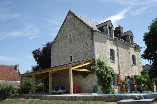 Location vacances Chinon -  Maison - 8 personnes - Barbecue - Photo N° 1