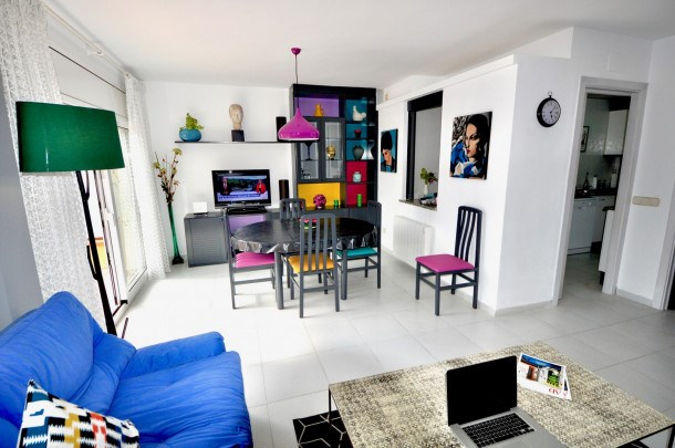 Location vacances Palamós -  Appartement - 8 personnes - Télévision - Photo N° 1