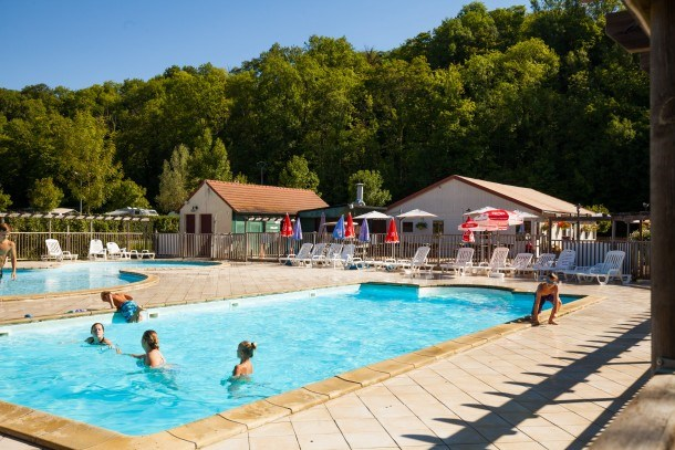 Camping Le soleil de Crécy -Mobil-home 3 chambres 7 pers