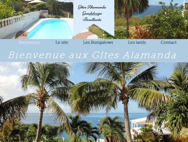 Location vacances Bouillante -  Gite - 4 personnes - Barbecue - Photo N° 1