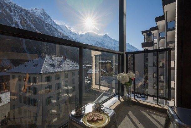 Location vacances Chamonix-Mont-Blanc -  Appartement - 2 personnes - Barbecue - Photo N° 1
