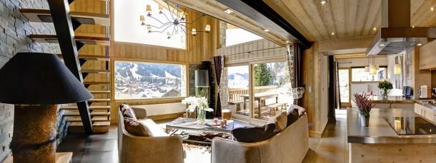Location vacances Les Gets -  Maison - 12 personnes - Salon de jardin - Photo N° 1