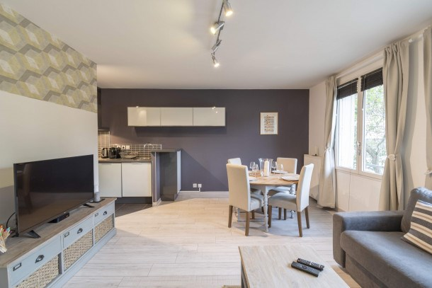 Les Deux Rives - Appartement confortable avec place de parking