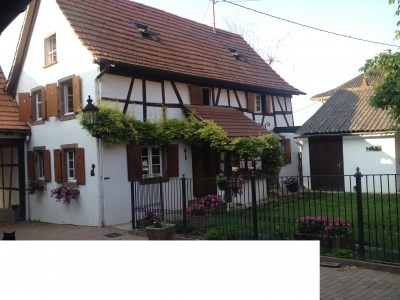 Location vacances Kienheim -  Gite - 6 personnes - Barbecue - Photo N° 1