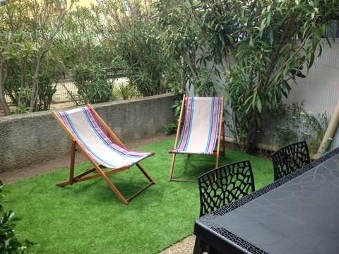 Location vacances Valras-Plage -  Maison - 7 personnes - Salon de jardin - Photo N° 1