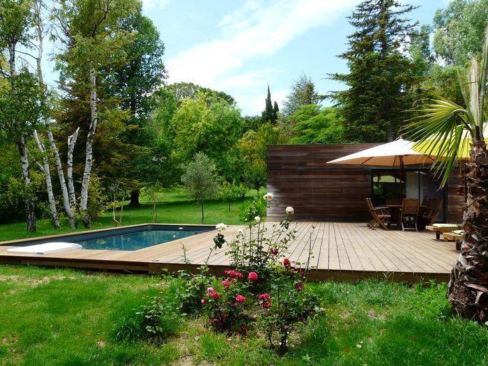 Villa contemporaine avec piscine privée sur les hauteurs de Caumont sur Durance pour 6 personnes