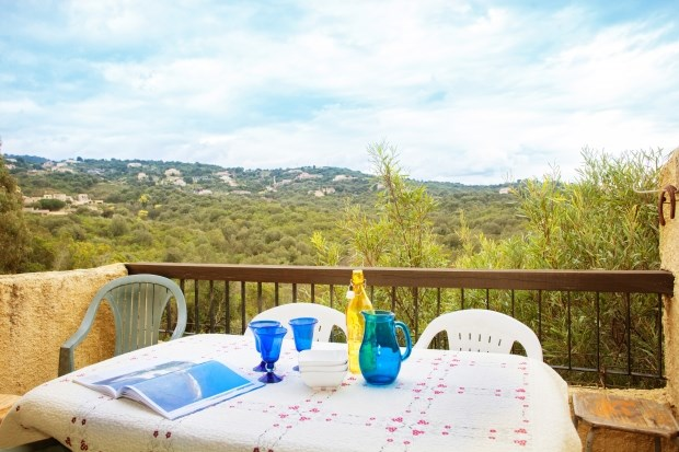Location vacances Grosseto-Prugna -  Appartement - 6 personnes - Salon de jardin - Photo N° 1