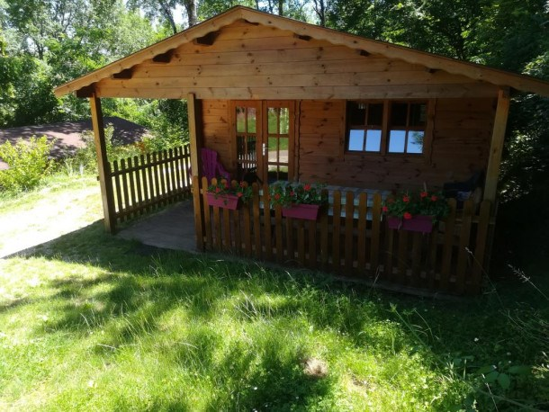 Camping LE PIC - Chalet Bois 35M² 2 chambres