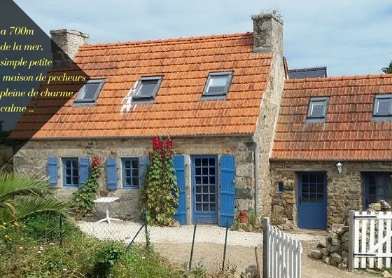 house edge of sea has plougrescant - Plougrescant