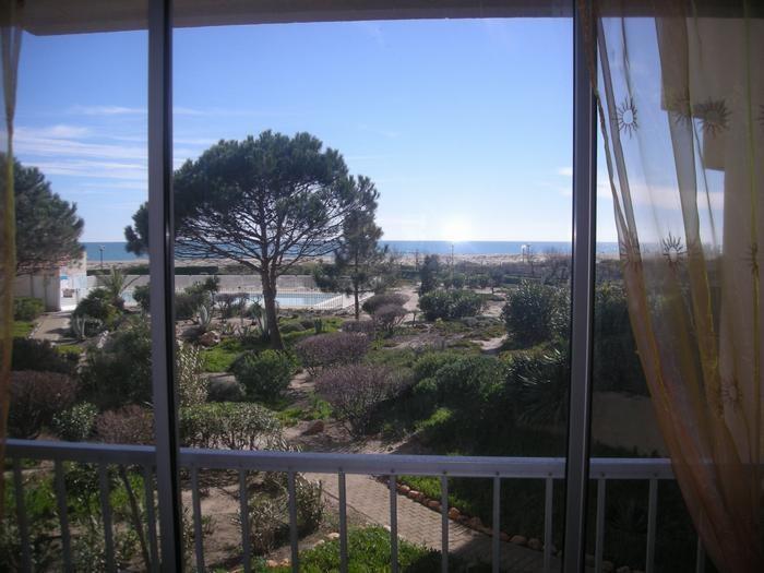 Location vacances Leucate -  Appartement - 4 personnes - Jardin - Photo N° 1