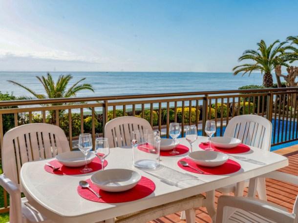 Location vacances Sant Andreu de Llavaneres -  Appartement - 6 personnes - Télévision - Photo N° 1