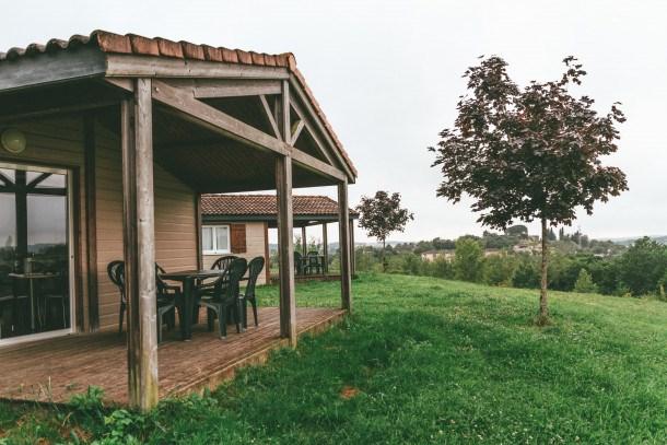 Location vacances Monclar-de-Quercy -  Maison - 4 personnes - Salon de jardin - Photo N° 1