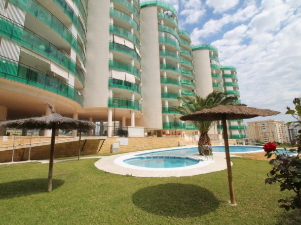 Location vacances Benidorm -  Appartement - 3 personnes - Barbecue - Photo N° 1
