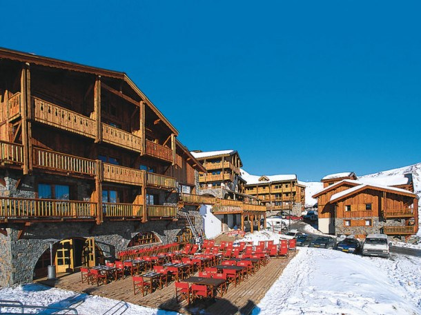 Location vacances Tignes -  Appartement - 6 personnes - Billard - Photo N° 1