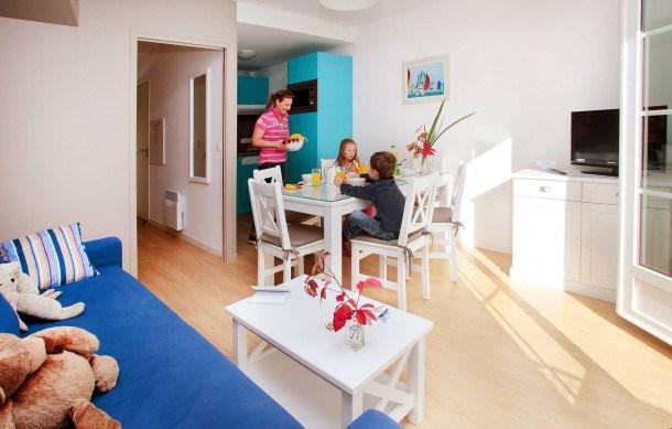 Location vacances Cabourg -  Appartement - 2 personnes - Congélateur - Photo N° 1