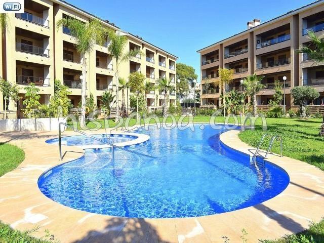 Location vacances Jávea/Xàbia -  Appartement - 4 personnes - Salon de jardin - Photo N° 1