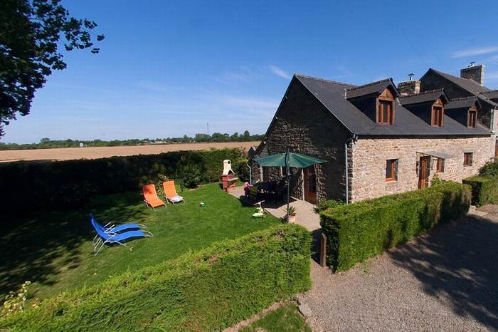 Location vacances La Selle-en-Coglès -  Maison - 5 personnes - Barbecue - Photo N° 1