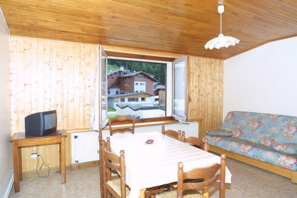 Location vacances Les Gets -  Appartement - 5 personnes - Salon de jardin - Photo N° 1