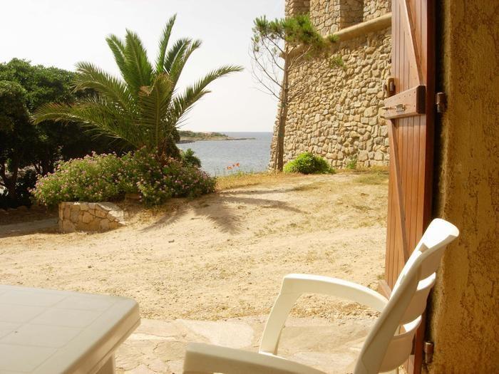 Location vacances Algajola -  Appartement - 3 personnes - Barbecue - Photo N° 1