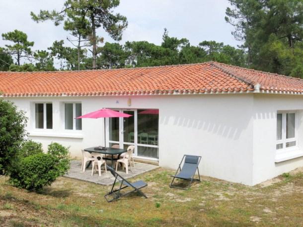 Location vacances Saint-Hilaire-de-Riez -  Maison - 5 personnes - Barbecue - Photo N° 1