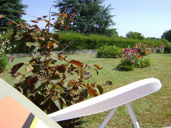 Repos au jardin !