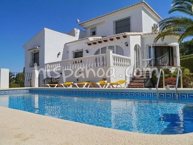 House for 6 ppl. with pool, Benitachell/el Poble Nou de Benitatxell
