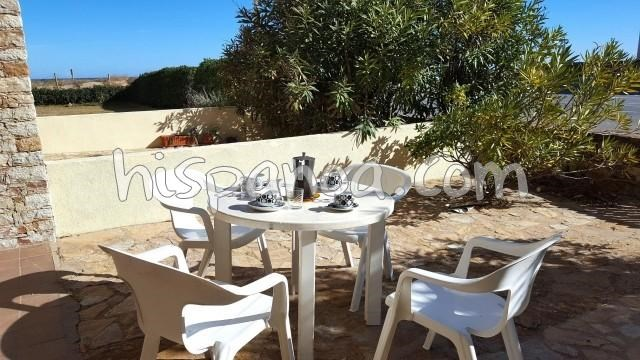 Location vacances Pals -  Appartement - 5 personnes - Salon de jardin - Photo N° 1