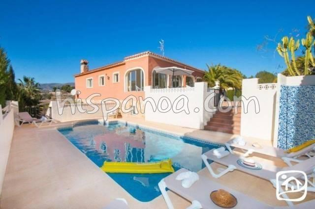 Location vacances Calp -  Maison - 16 personnes - Barbecue - Photo N° 1