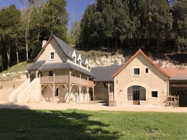 Location vacances Cravant-les-Côteaux -  Gite - 12 personnes - Jardin - Photo N° 1