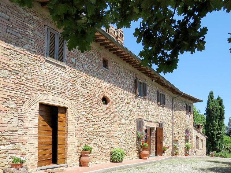 Studio pour 6 personnes à San Gimignano