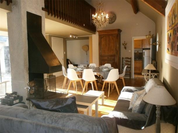 Location vacances Saint-Lary-Soulan -  Maison - 8 personnes - Télévision - Photo N° 1