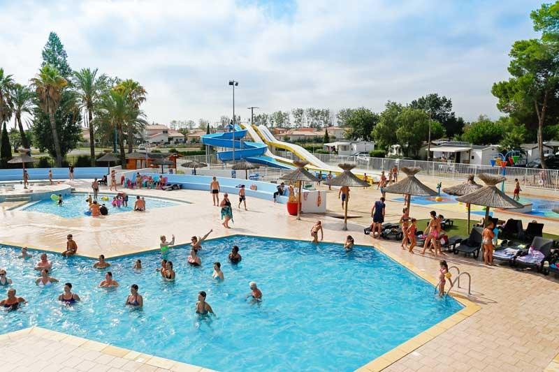 Location vacances Saint-Cyprien -  Camping - 4 personnes - Jeux d'extérieurs - Photo N° 1