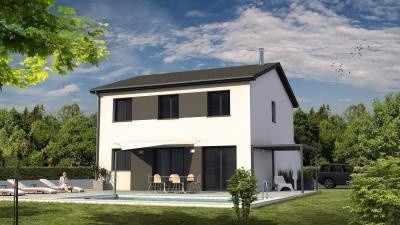 Maison  4 pièces + Terrain 600 m² Meyrié par MAISONS KOME
