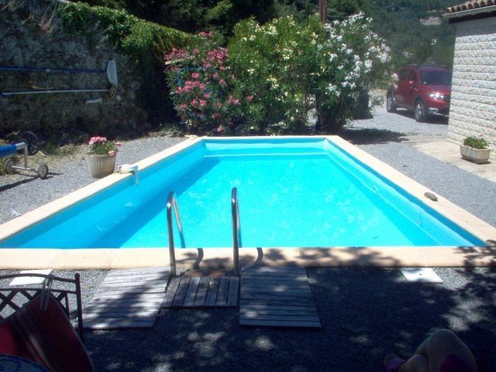 Appartement pour 4 pers. avec piscine, Aulas