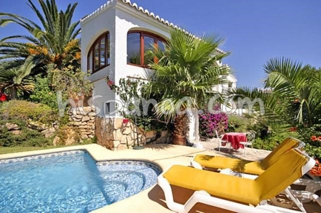 Holiday rentals Jávea/Xàbia - House - 6 persons - Garden - Photo N° 1