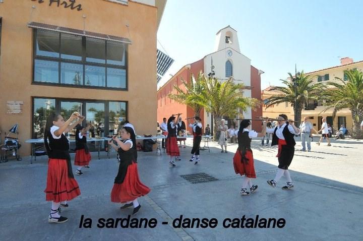 la sardane ,danse traditionnelle catalane
