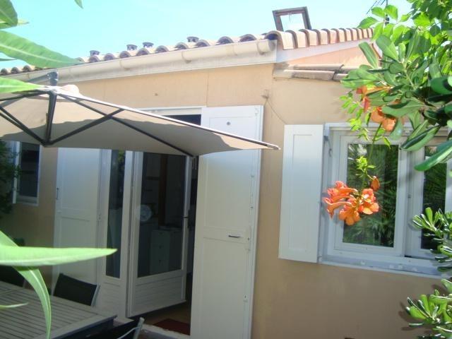 Maisonnette pour 4 pers. avec piscine, Marseillan