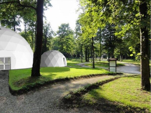 Flower Domaine du Buisson - Tente luxe Lodge Safari Premium 50 m² - 2 chambres