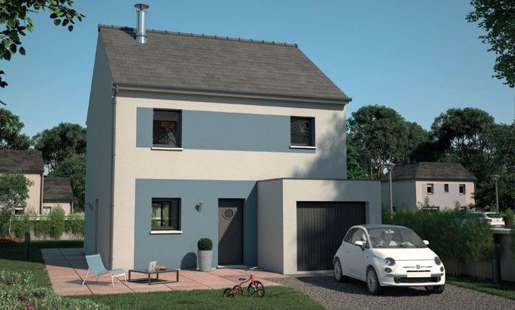 Maison  4 pièces + Terrain 421 m² Dammartin-en-Goële par MAISONS EVOLUTION