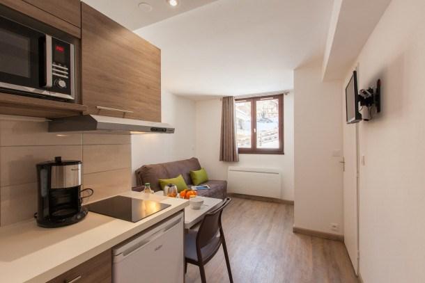 Location vacances Chantemerle -  Appartement - 2 personnes - Télévision - Photo N° 1