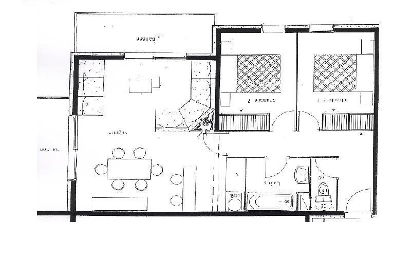 Appartement 3 pièces 6 personnes (32)