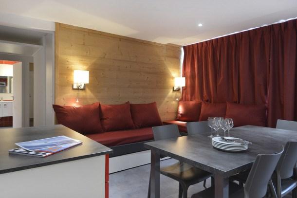 Location vacances Mâcot-la-Plagne -  Appartement - 7 personnes - Télévision - Photo N° 1